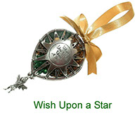 Wish upon a Star pewter pomander with pot pourri